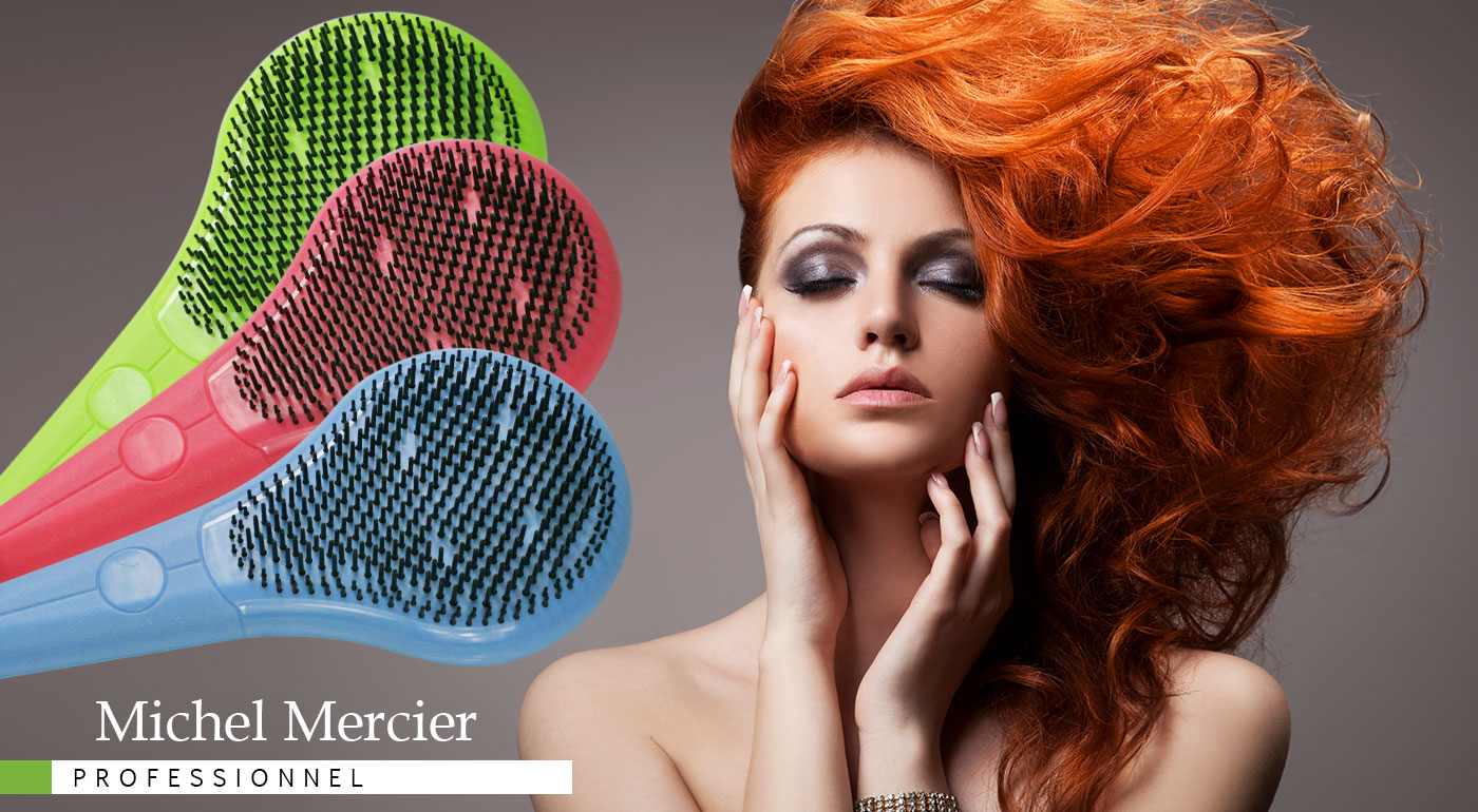 Revolučná kefa Michel Mercier pre rôzne typy vlasov