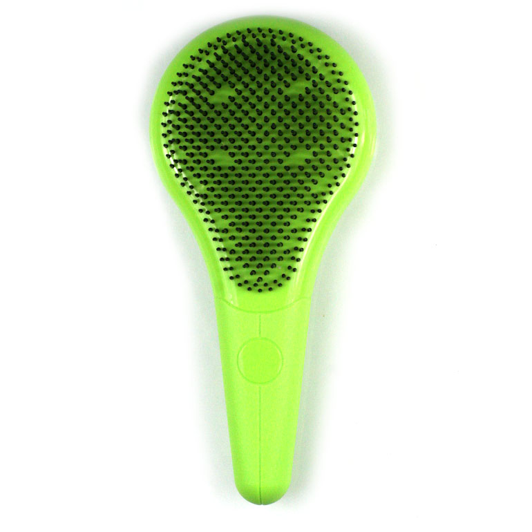 Revolučná kefa na normálne vlasy - zelená