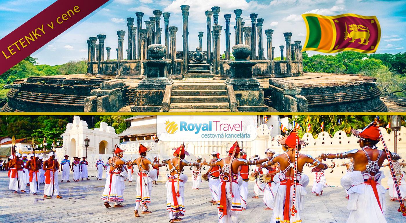 Spoznajte perlu Indického oceánu počas jedinečného zájazdu na Srí Lanku s CK Royal Travel