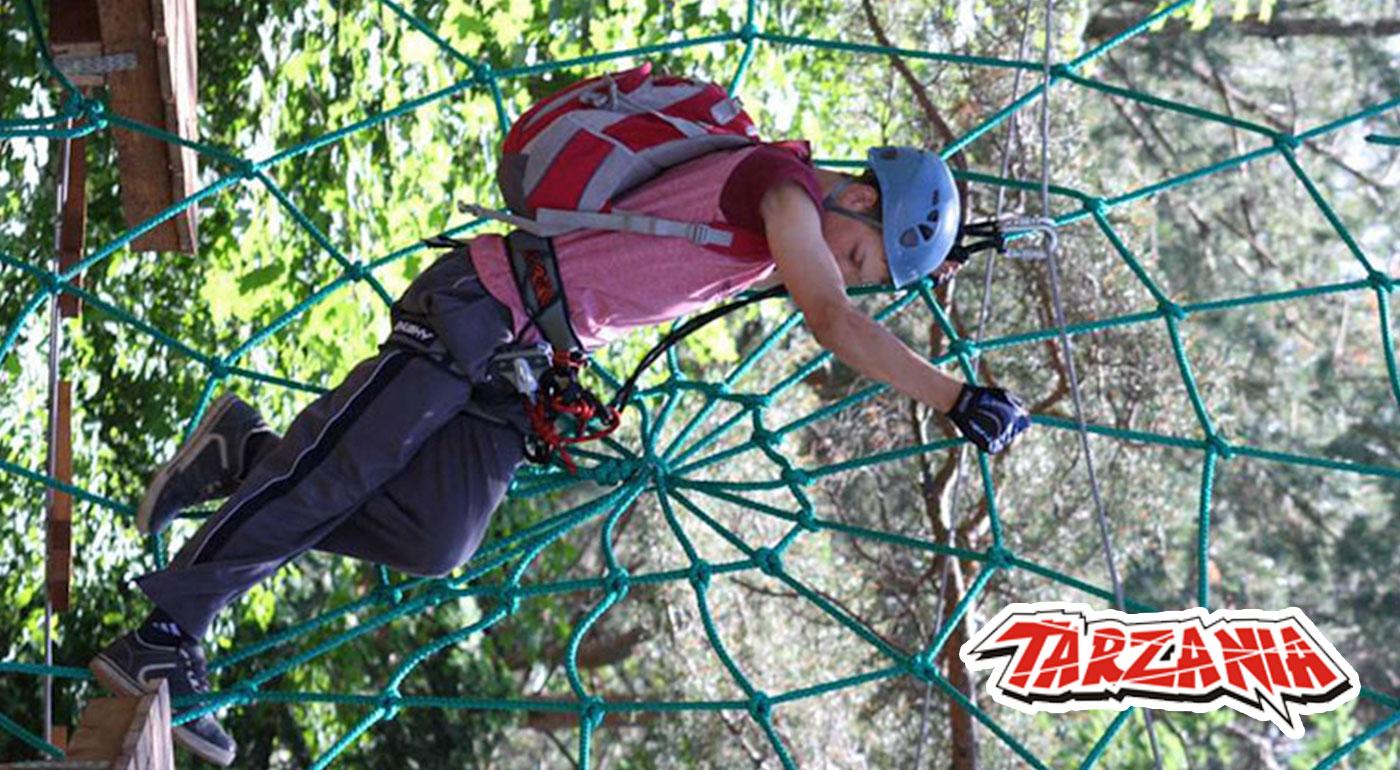 Vstúpte do lanového parku Tarzánia Skalica a prežite super deň v džungli!