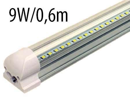 T8 LED trubicové svietidlo 9 W / 0,6 m, prírodná biela