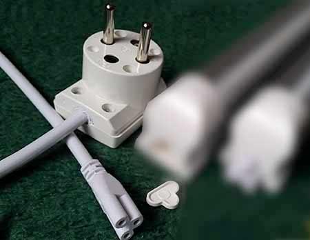 LED sieťový kábel 230 V s vidlicou