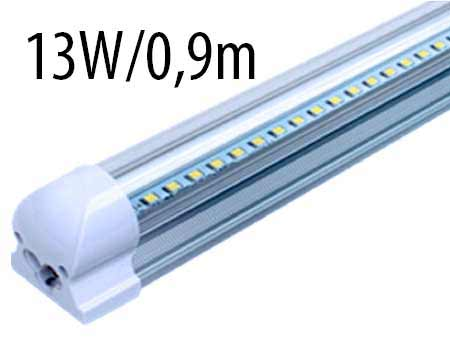 T8 LED trubicové svietidlo 13 W / 0,9 m, studená biela