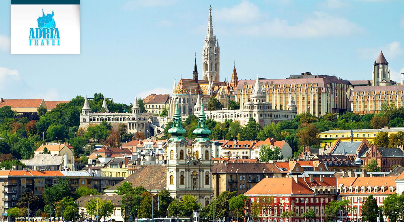 Spoznajte Budapešť počas jarných slnečných dní s CK Adria Travel!