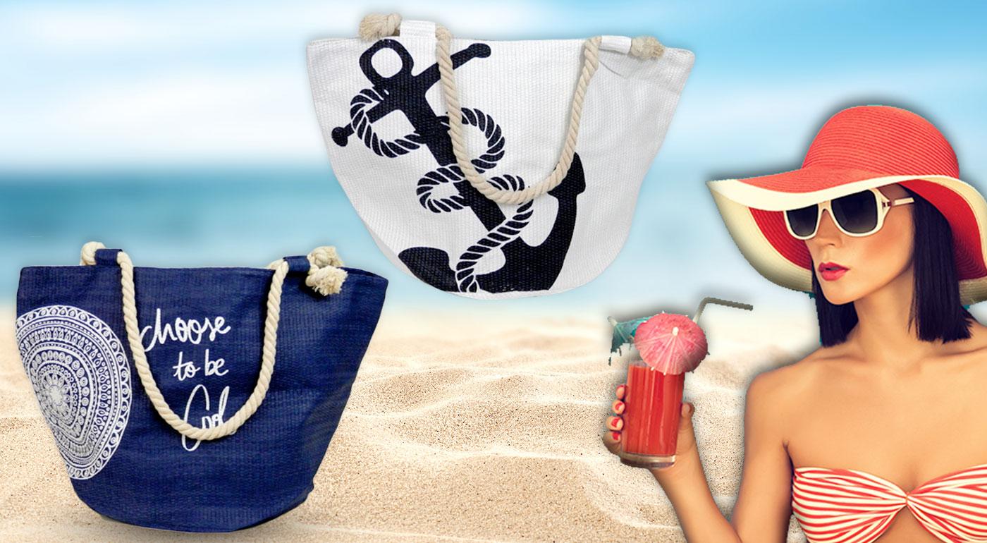 Námornícke plážové tašky v 4 modeloch