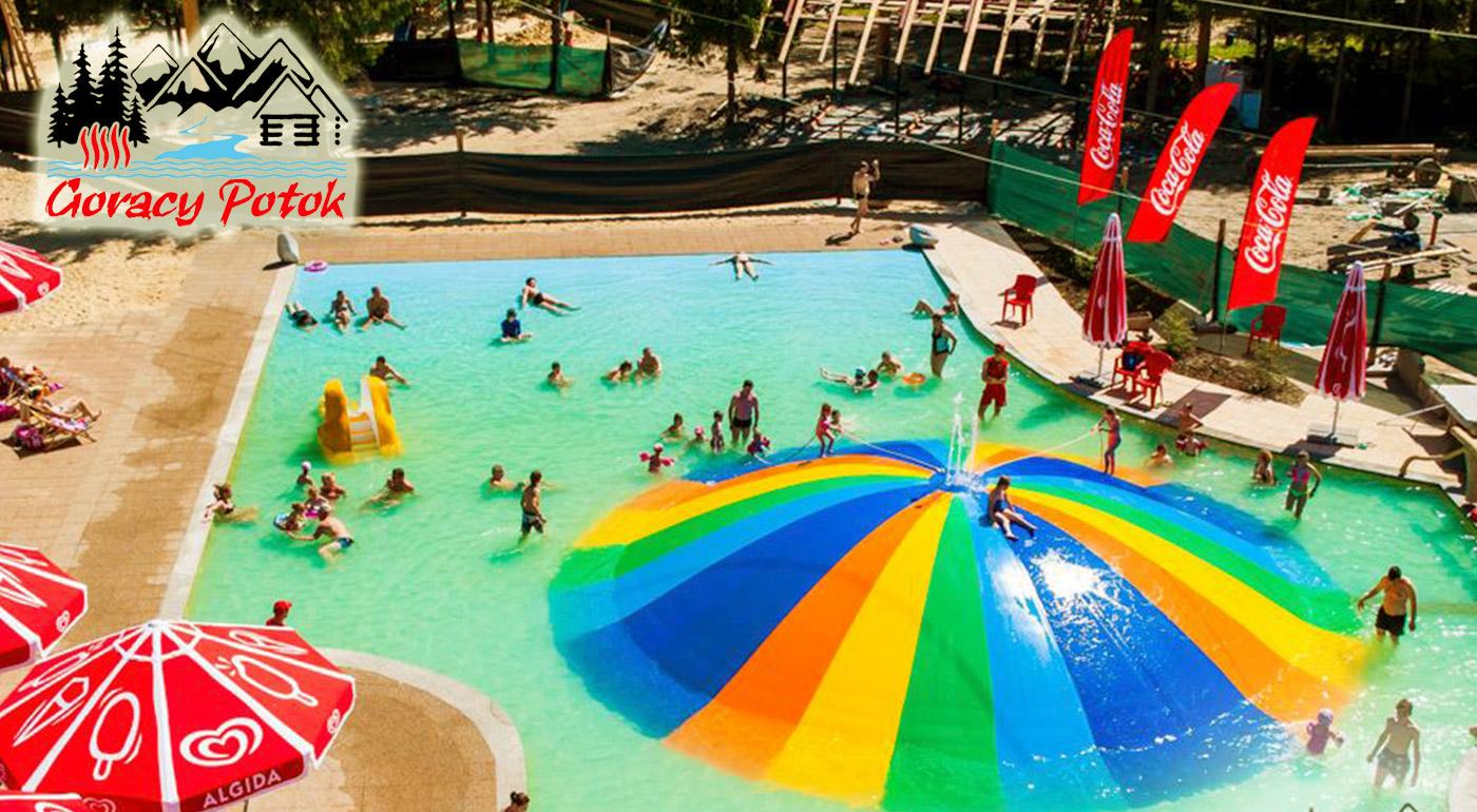 Celodenný vstup do úžasných termálnych bazénov Goracy Potok v Poľsku!