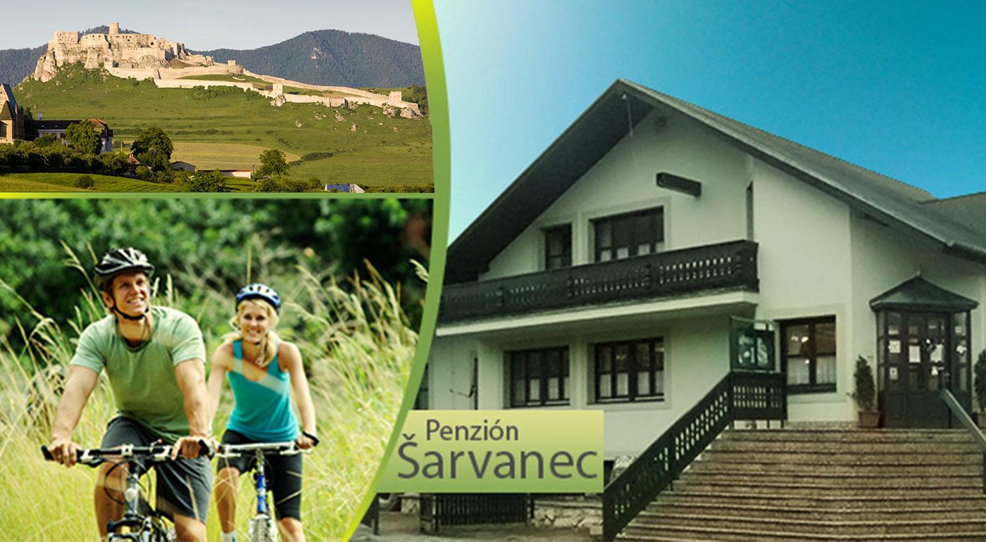 Spoznajte všetky krásy Spiša v rodinnom Penzióne Šarvanec - kupón platí až do 31.10.2016!