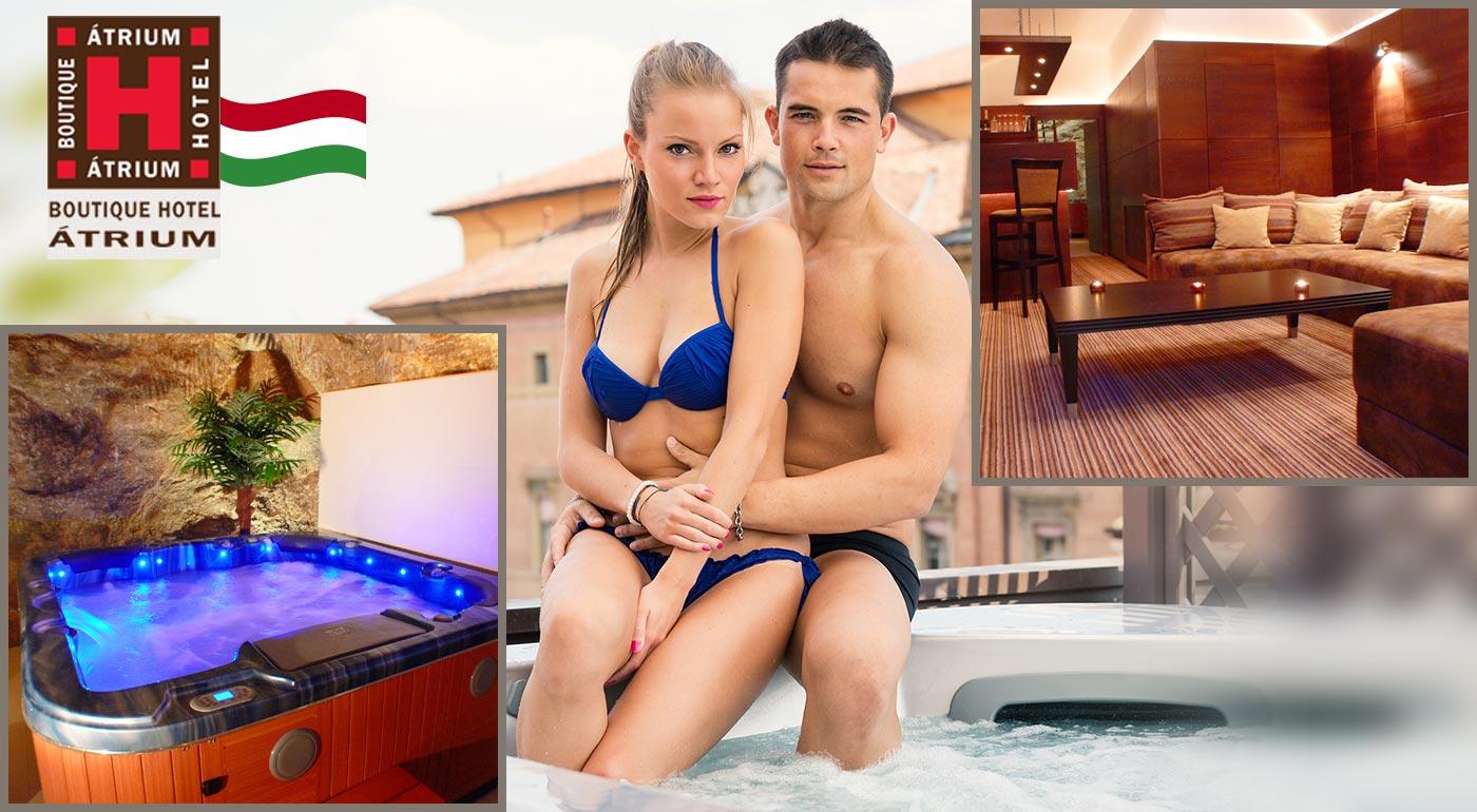 Oddychové 3 alebo 4 dni pre dvoch v Atrium Boutique Hoteli v Maďarsku