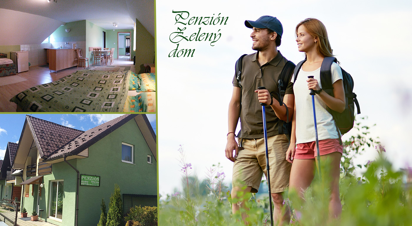 Penzión Zelený dom na Orave pod Roháčmi - pobyt na 3 až 5 dní pre dvoch