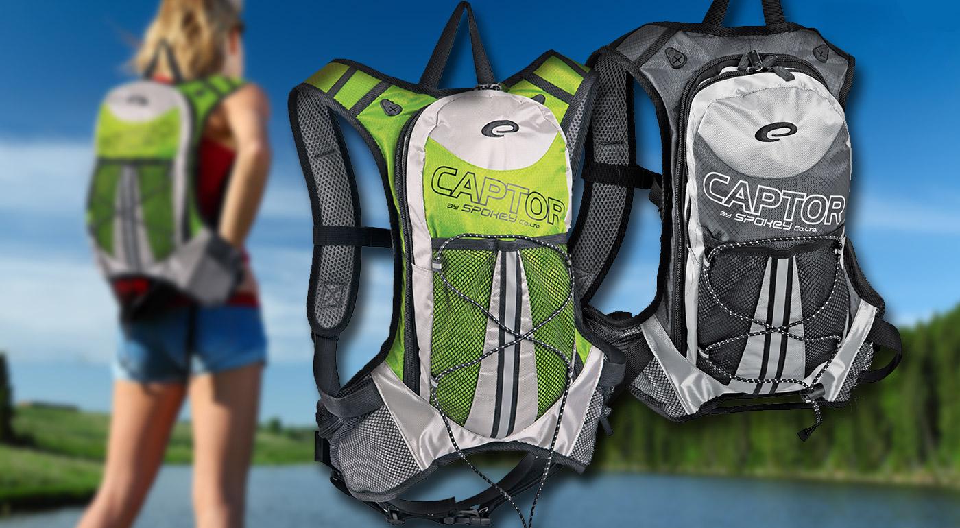 Športové batohy CAPTOR - na výber 2 farby