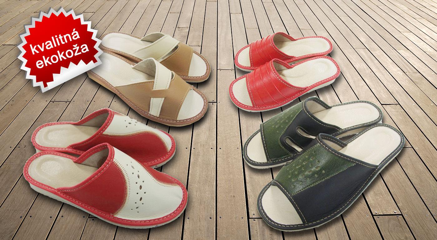 Dámske alebo pánske pohodlné papuče