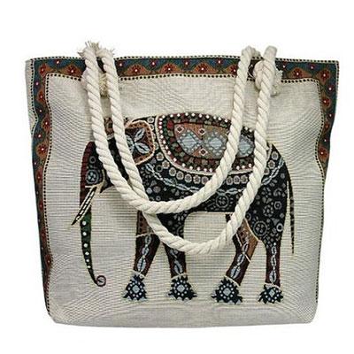 Plážová taška vzor: slon