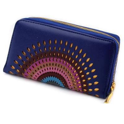 Peňaženka Mandala - modrá
