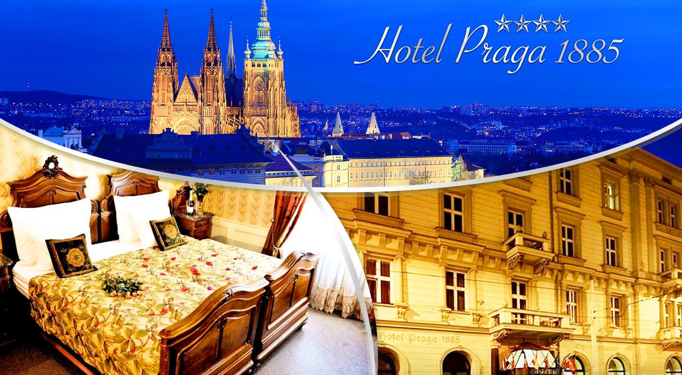 Luxusný pobyt v historickom Hoteli PRAGA 1885*** v centre Prahy
