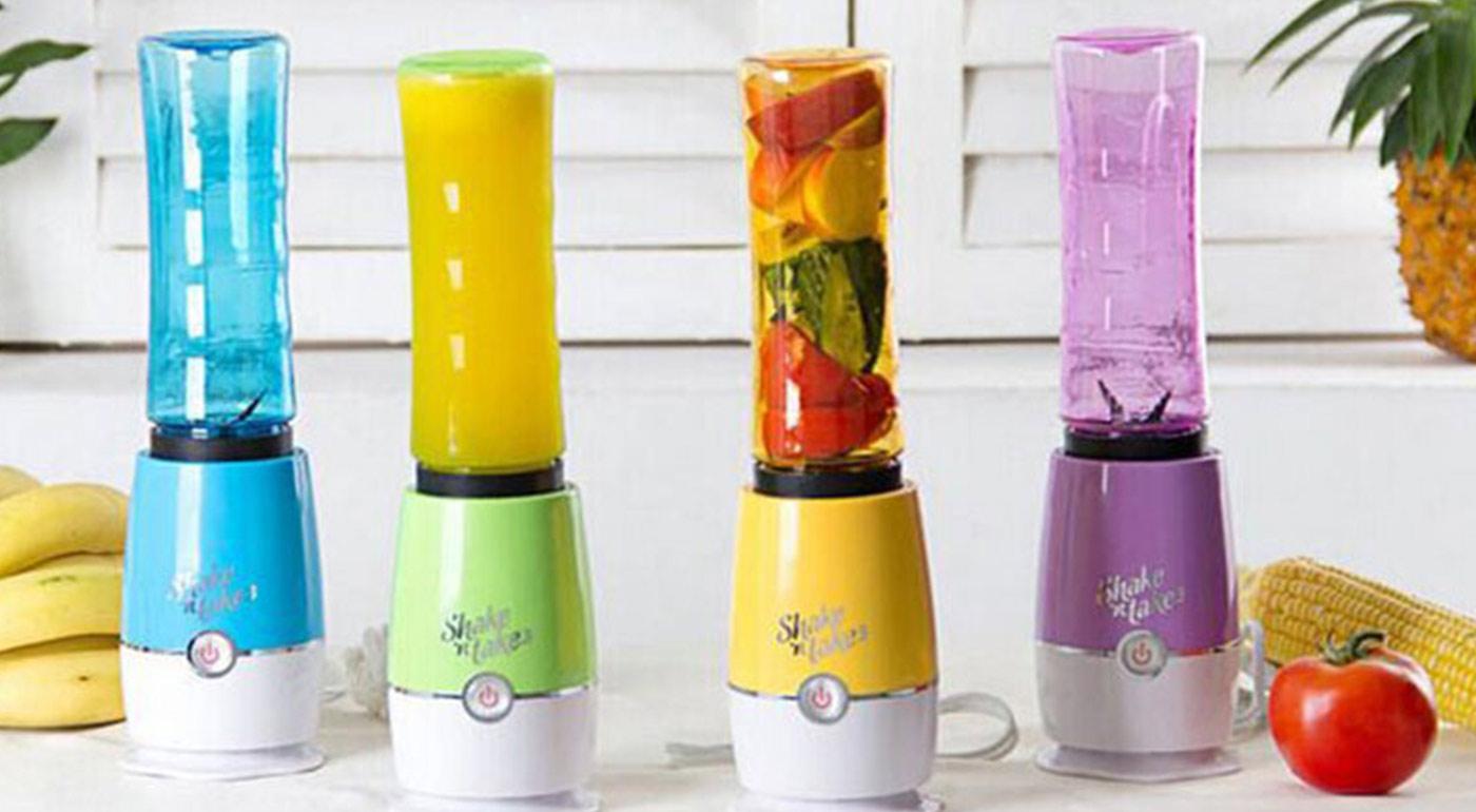 Mixér a fľaška v jednom - praktický smoothies mixér Shake 'n take!