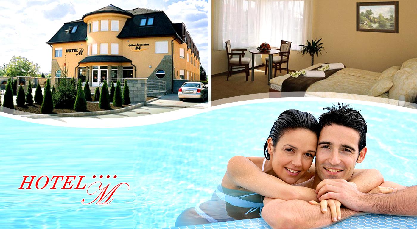 Wellness Hotel-M s all inclusive v Hajdúszoboszló. Ten najlepší relax vás čaká v Hungarospa - najväčšom kúpeľnom komplexe v Európe!
