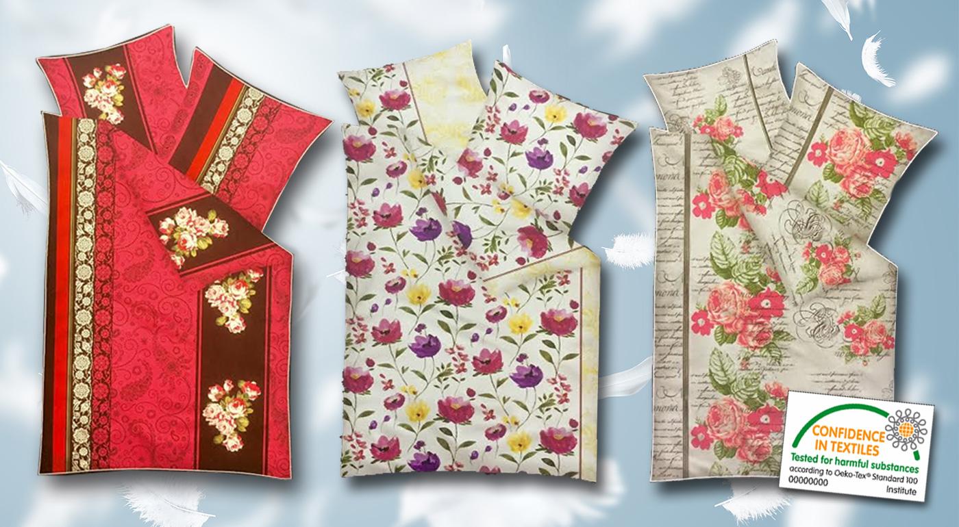 Pestré kvalitné obliečky pre dokonalý spánok z mäkkej mikrofázy