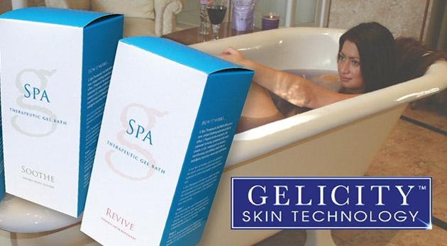 Užite si pôžitok luxusných želatínových kúpeľov. Krémový kúpeľ, ktorý pohladí celé vaše telo.