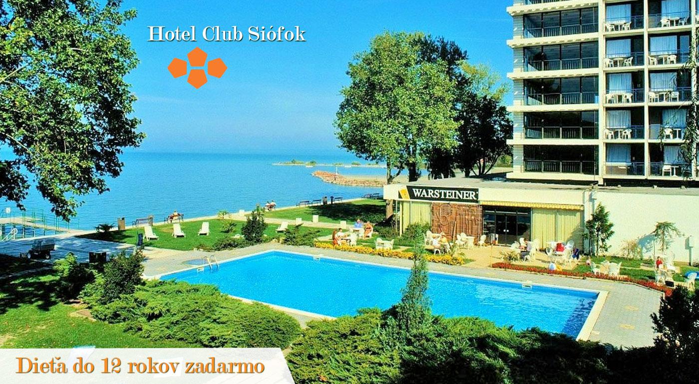 Vaša obľúbená dovolenka pri maďarskom mori v Hoteli Európa a Hungária***!