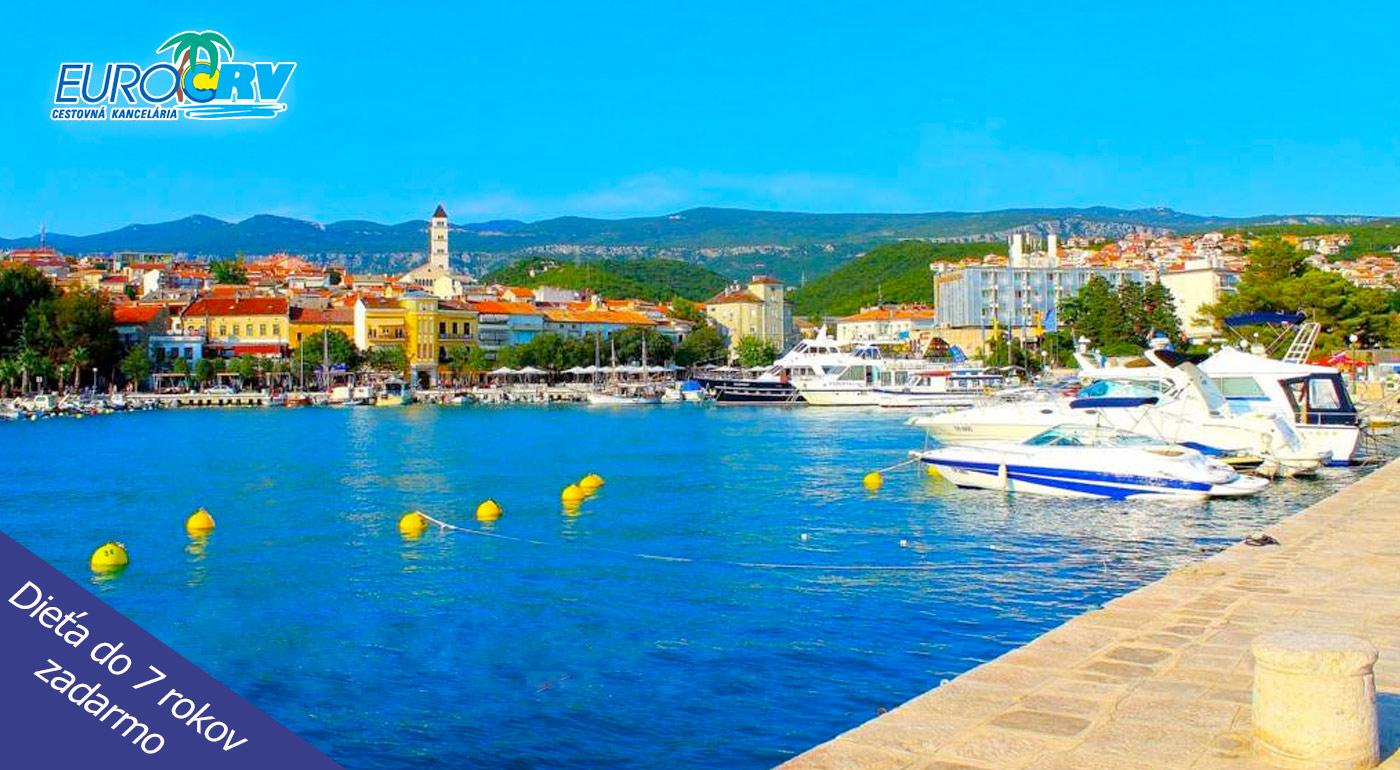Perfektná dovolenka plná exotiky v chorvátskej Crikvenici v Hoteli Riviera**!
