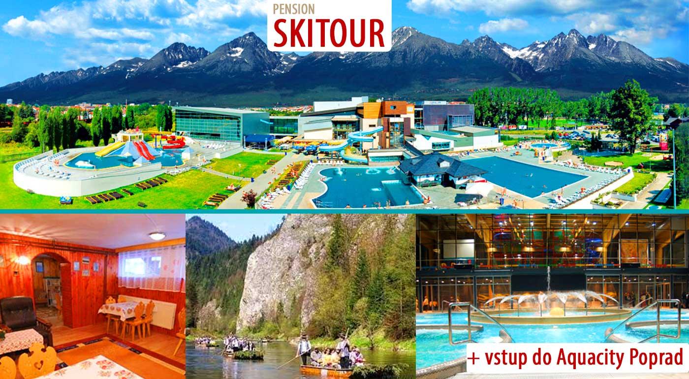 Dobrodružné prázdniny vo Vysokých Tatrách so splavom Dunajca a kúpaním v Aquacity Poprad