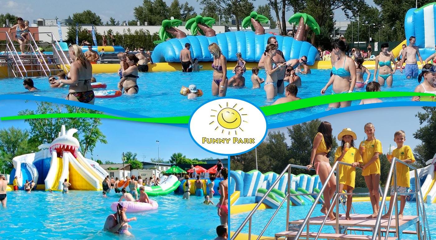 Hurá, ide sa do nafukovacieho aquaparku Funny Park v Piešťanoch na celý deň!