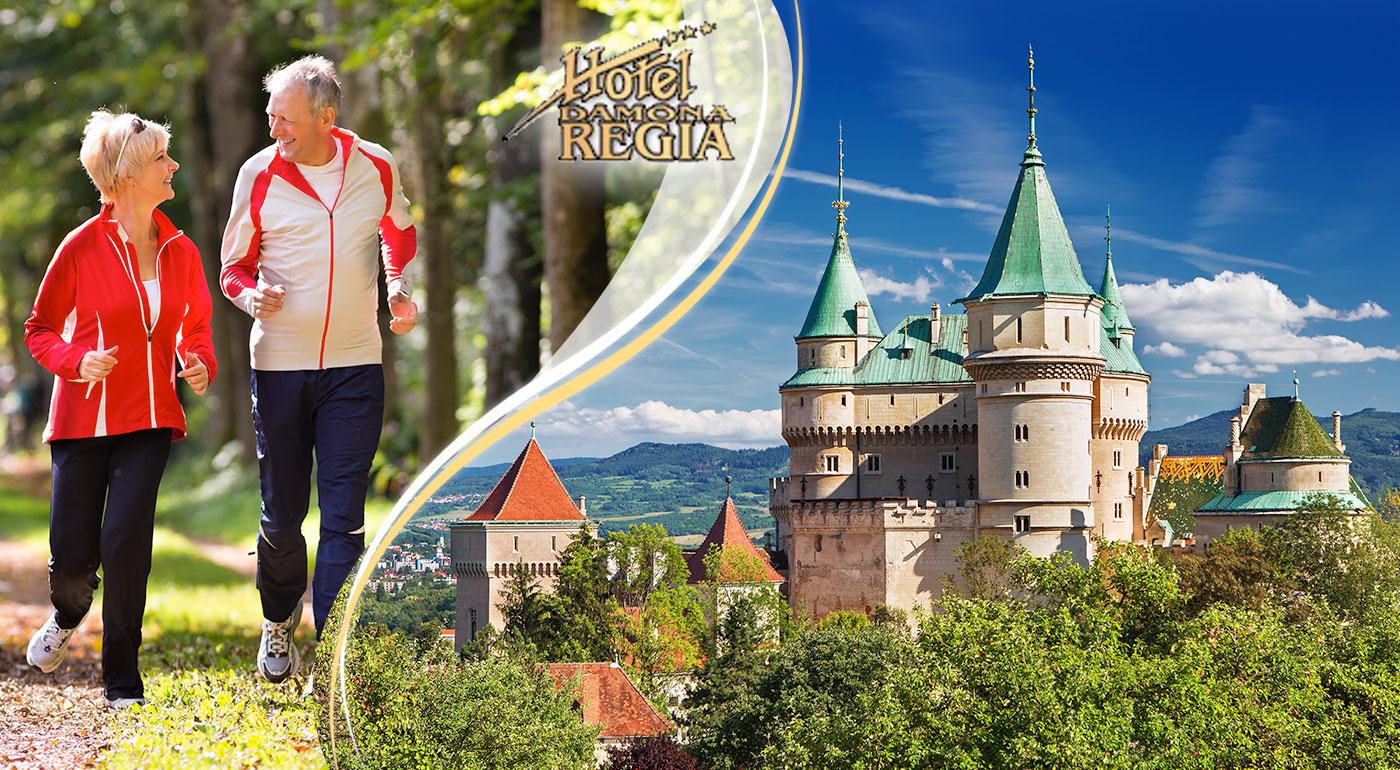 Relax pre seniorov v Bojniciach - wellness, polpenzia a krásna príroda!
