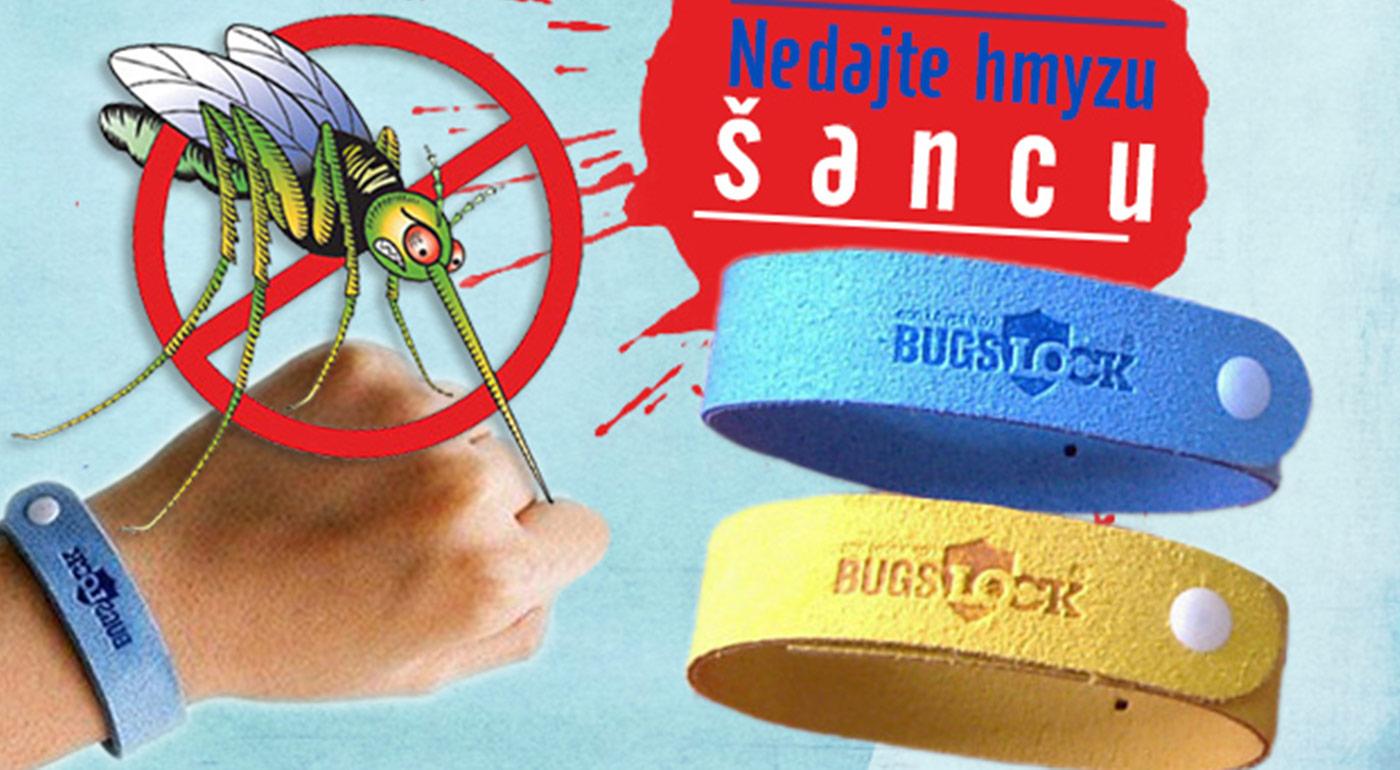 Repelentné náramky - ochrana pred komármi až na 240 hodín!