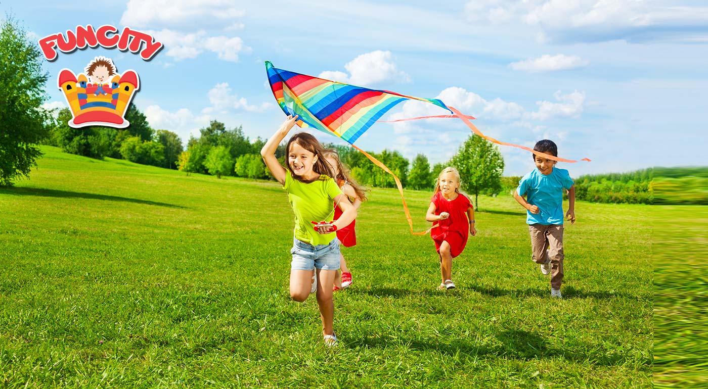 Leto v dennom tábore Jolly Camp vo FunCity s množstvom atrakcií!