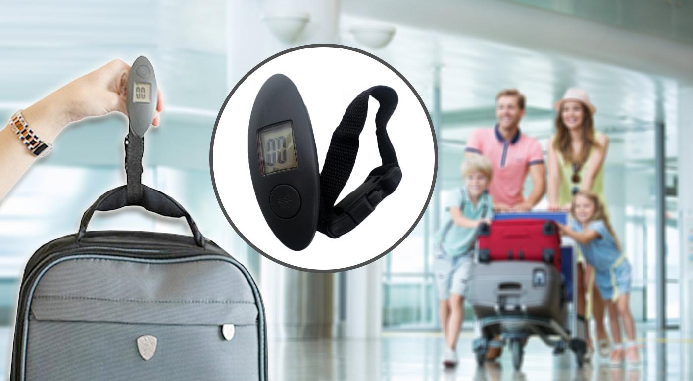 Cestovná digitálna váha