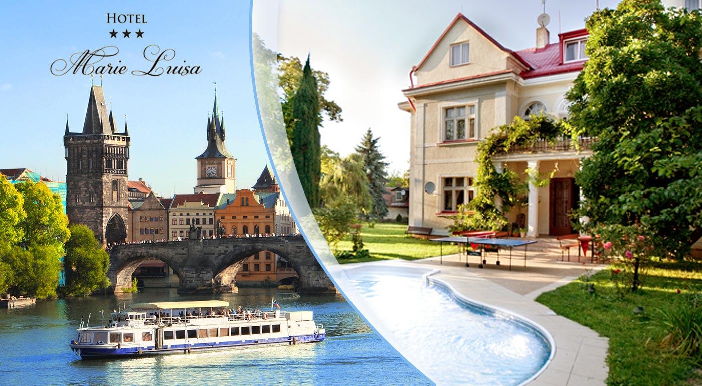 Čarovná Praha v obľúbenom rodinnom hoteli
