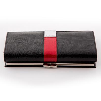 Dámska luxusná peňaženka ALESSADRO PAOLI - čierna