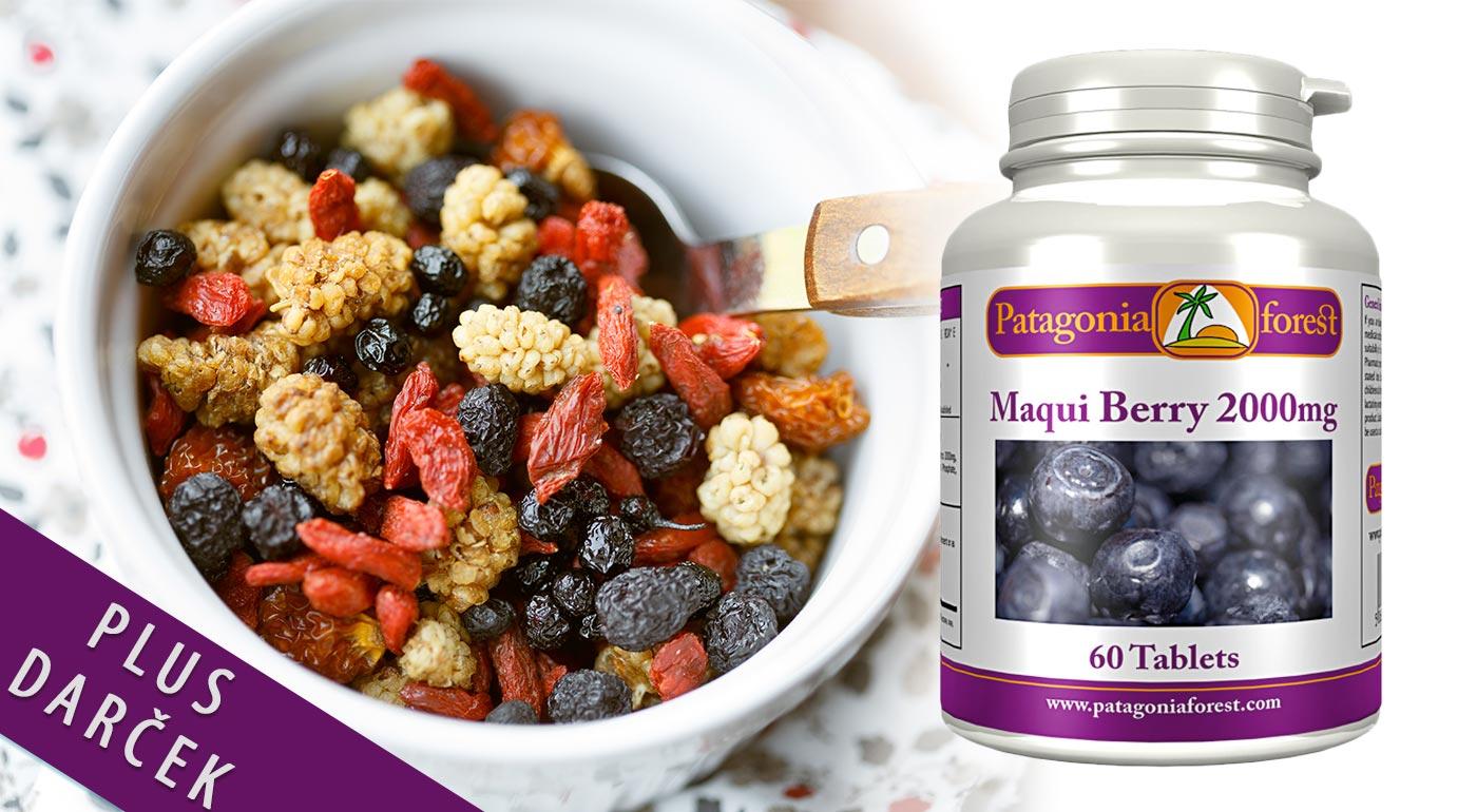 Detoxikujte a cíťte sa lepšie - 60 tabliet Maqui Berry z Patagónie