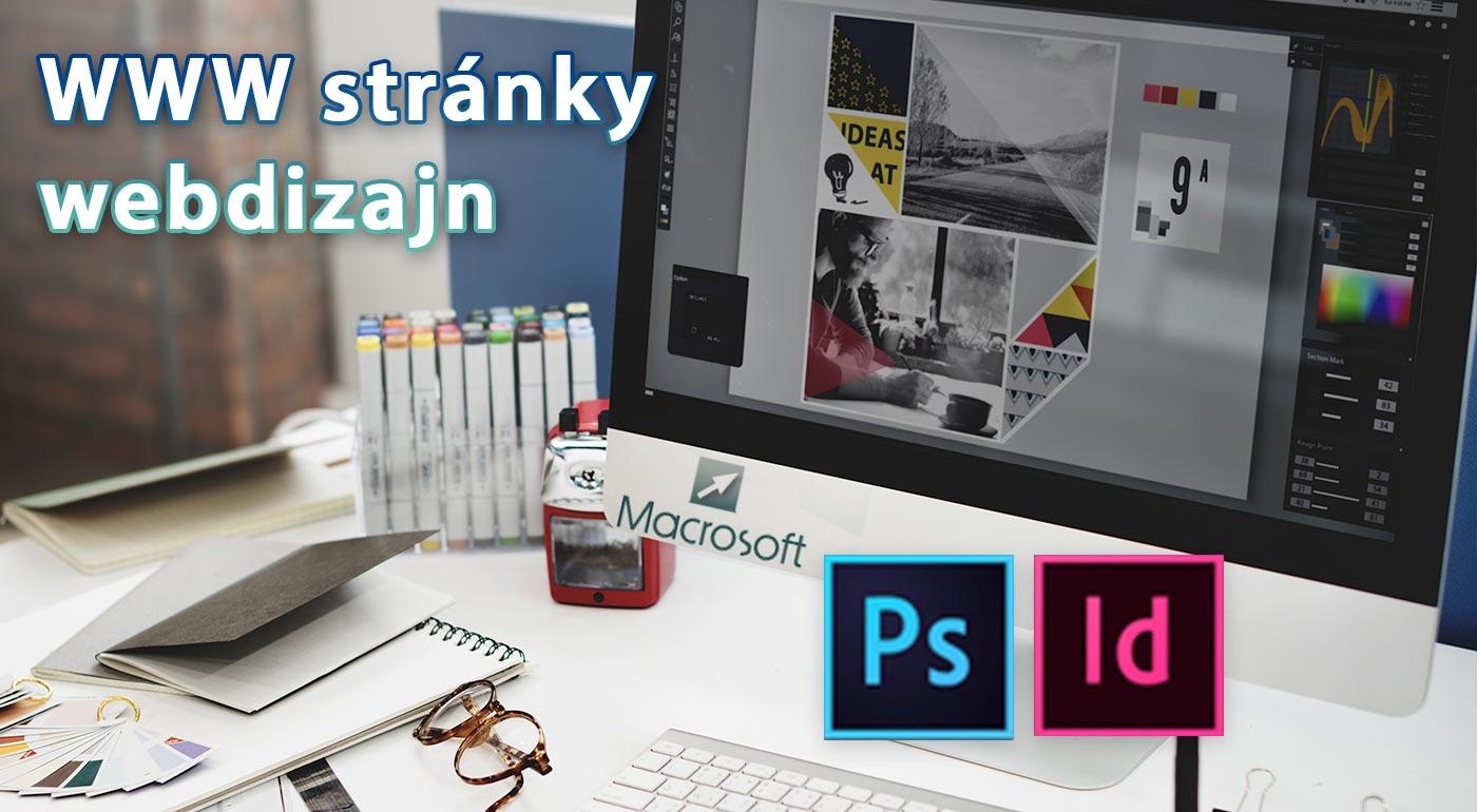 Počítačové kurzy grafiky a tvorby webu v školiacom centre MACROSOFT - ŠkolaPC