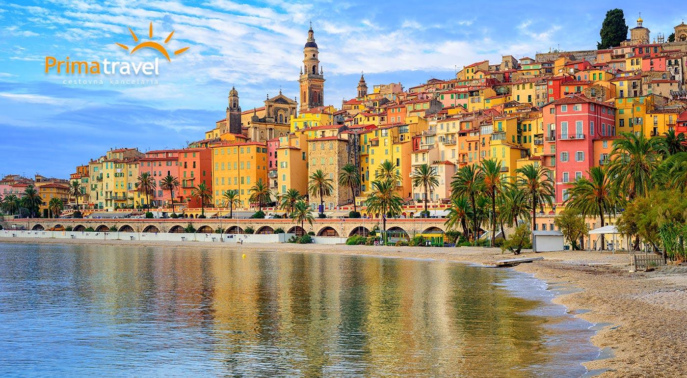 Perly Francúzskej riviéry - Monako, Nice a kúpanie v azúrovom mori. 4-dňový zájazd vrátane dopravy a sprievodcu!