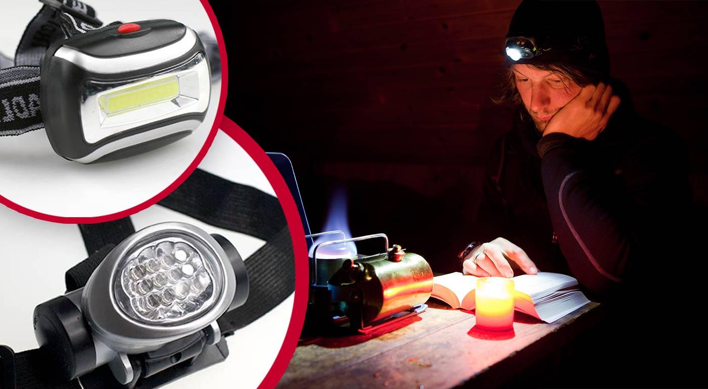 Čelové lampy - váš nový spoločník do tmy!