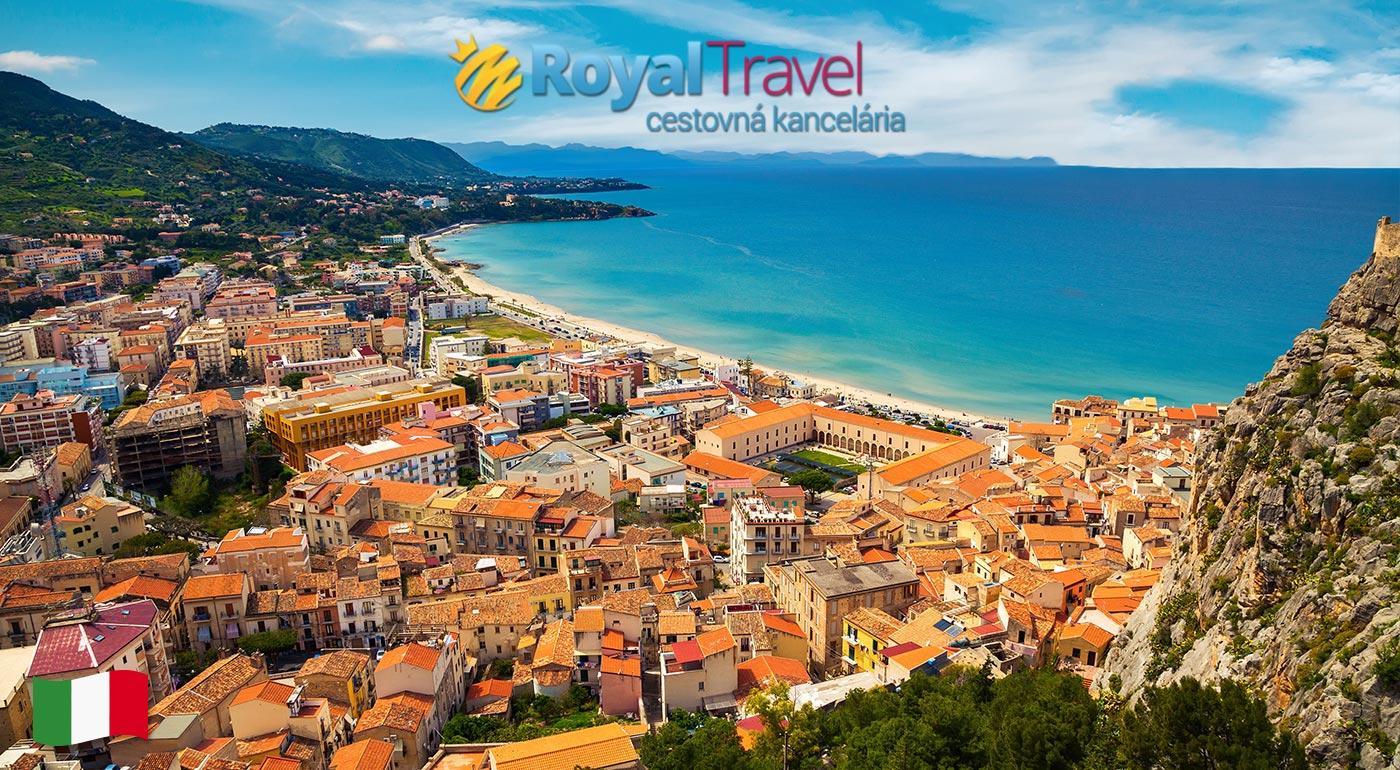 Magická Sicília s odletom z Bratislavy - cena vrátane letiskových poplatkov