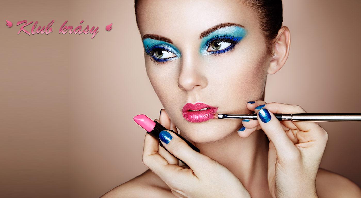 Kurz líčenia alebo slávnostné líčenie s kvalitnou kozmetikou