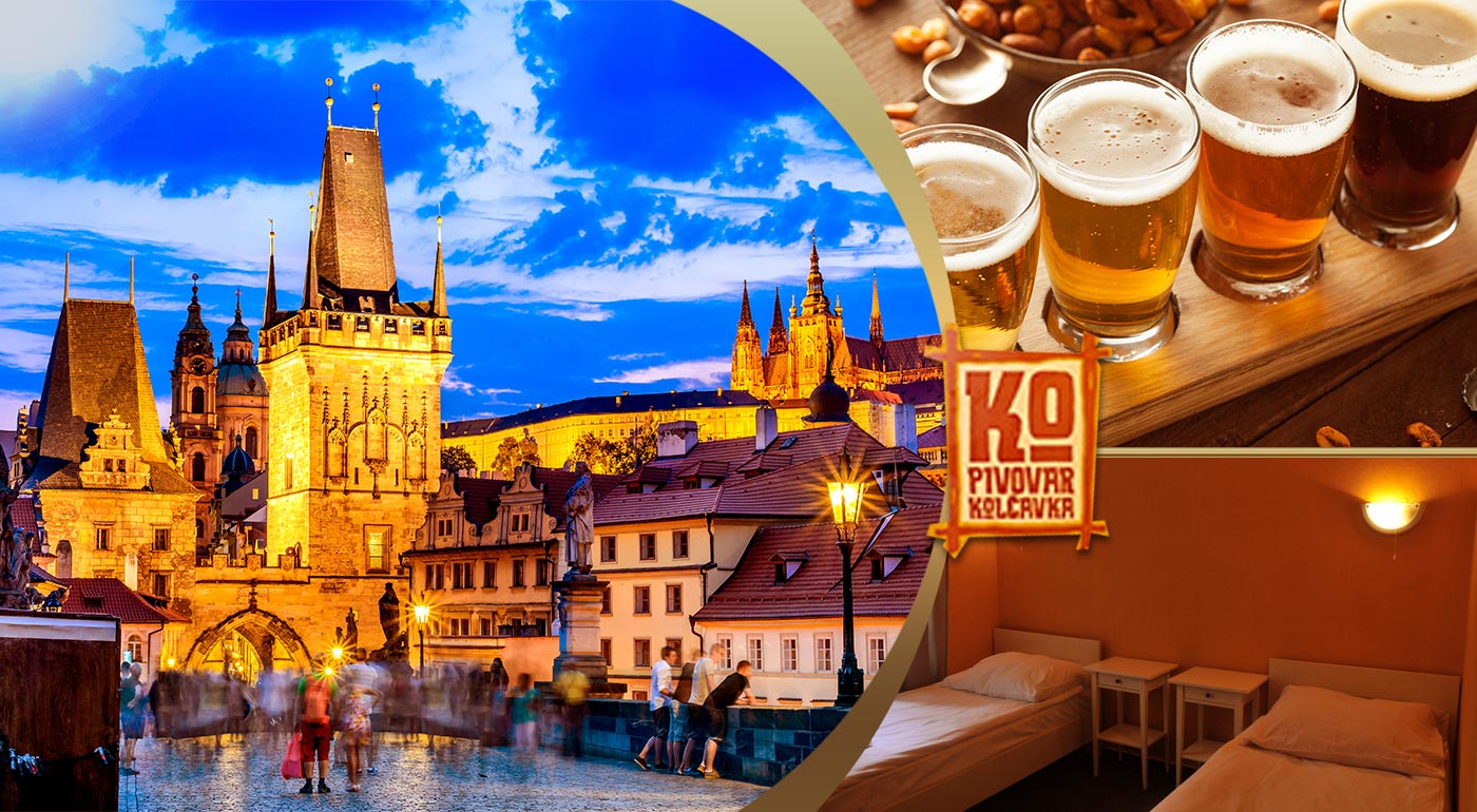Objavte rôzne chute piva v minipivovare Kolčavka v Prahe.