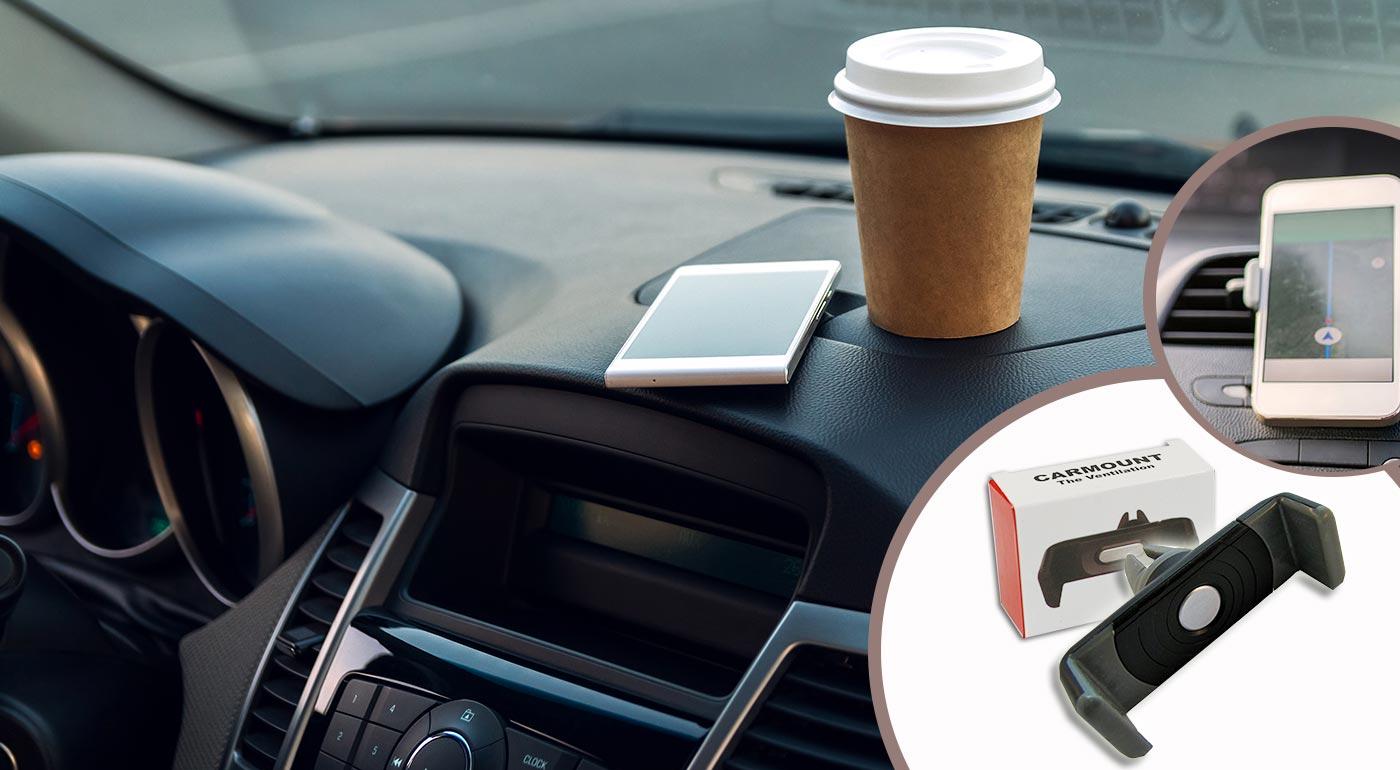 Extra pevný držiak pre mobil do auta CELLY Minigrip