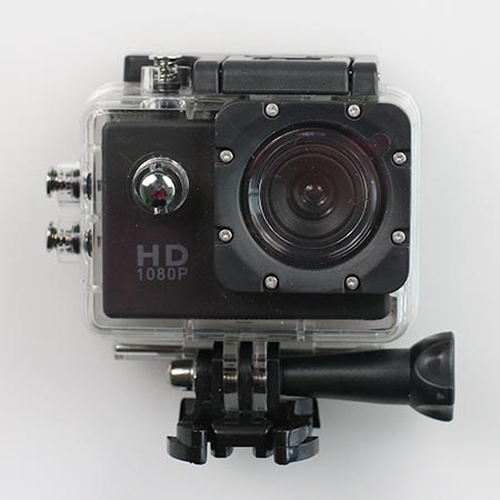 HD širokouhlá vodotesná kamera