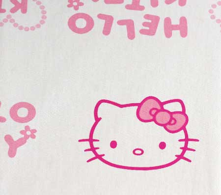 Nepremokavý detský chránič matraca Hello Kitty - vzor 6