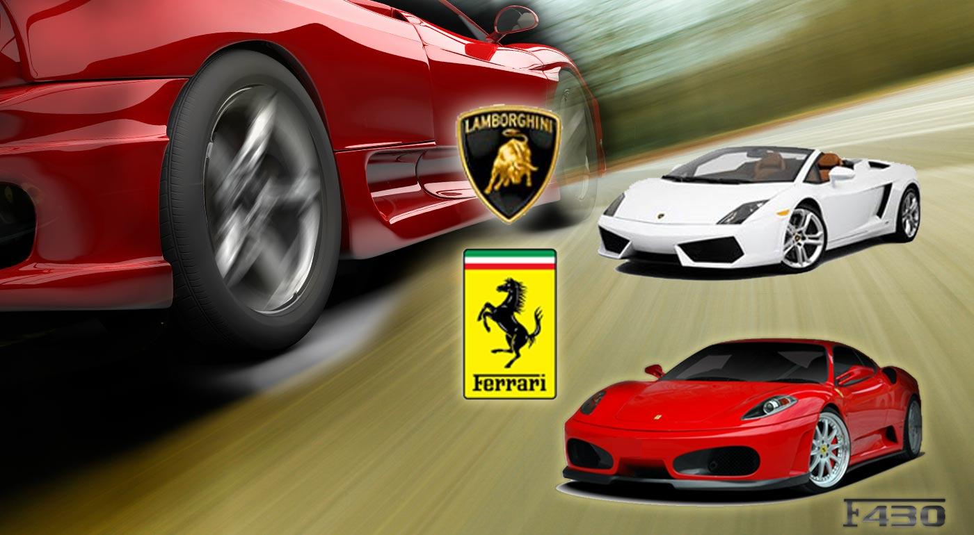 Vyskúšajte si, aké je sedieť vo Ferrari či Lamborghini - prežite adrenalínovú jazdu na luxusných autách