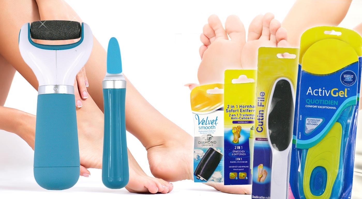 Nástroje pre profesionálnu starostlivosť o vaše chodidlá
