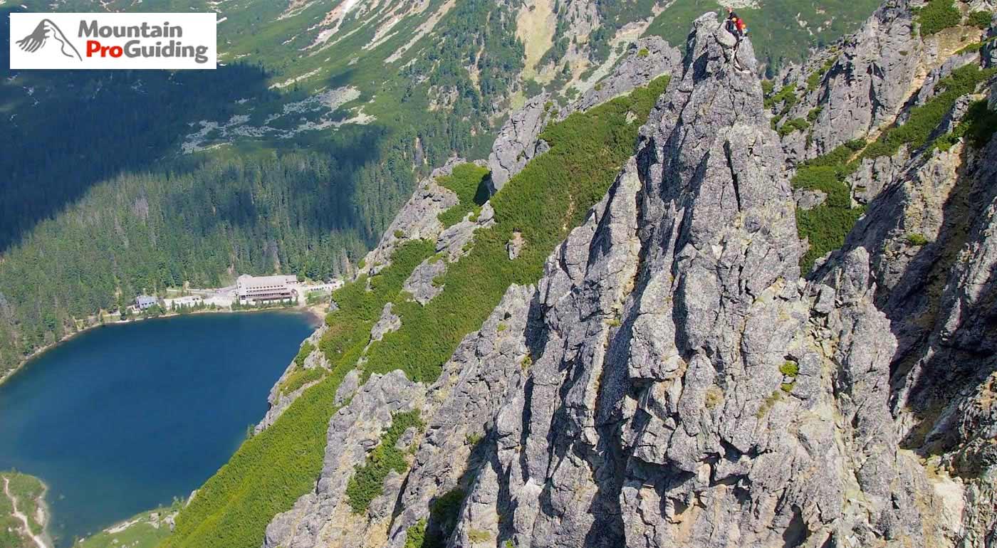 Vystúpte na vrchol Ihla v Ostrve vo Vysokých Tatrách s certifikovaným horským vodcom