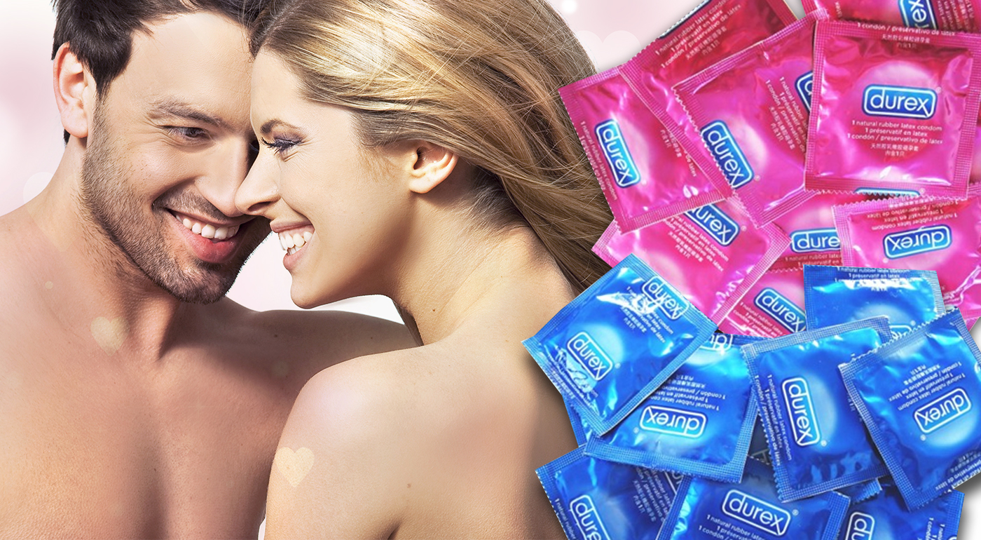 Rôzne druhy kondómov Durex - v balení 20 alebo 50 ks