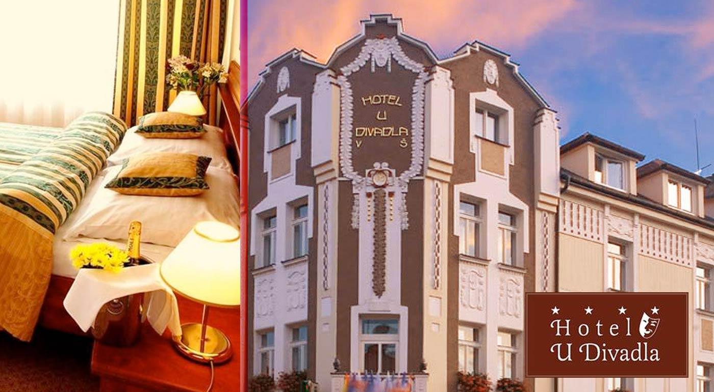 Podmanivá Praha pre dvoch v hoteli U Divadla ****