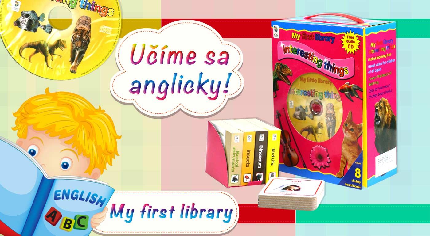 English is easy s balíkmi detských knižiek na výučbu angličtiny