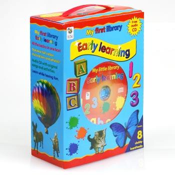 Sada anglických kníh v kufríku - My First Library: Early Learning