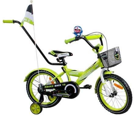 """Arti detský bicykel veľkosť: """"16"""" - zelený"""